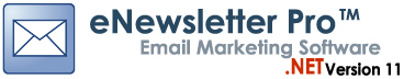 eNewsletter Pro Email Marketing Software and Newsletter Software